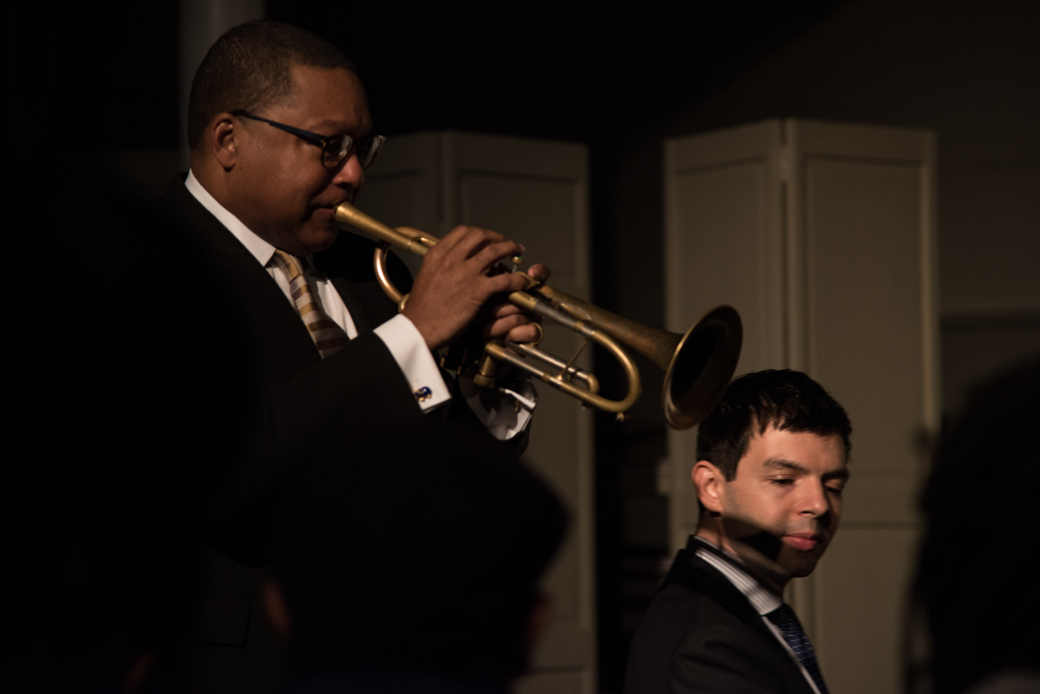 Wynton Marsalis and Dan Nimmer