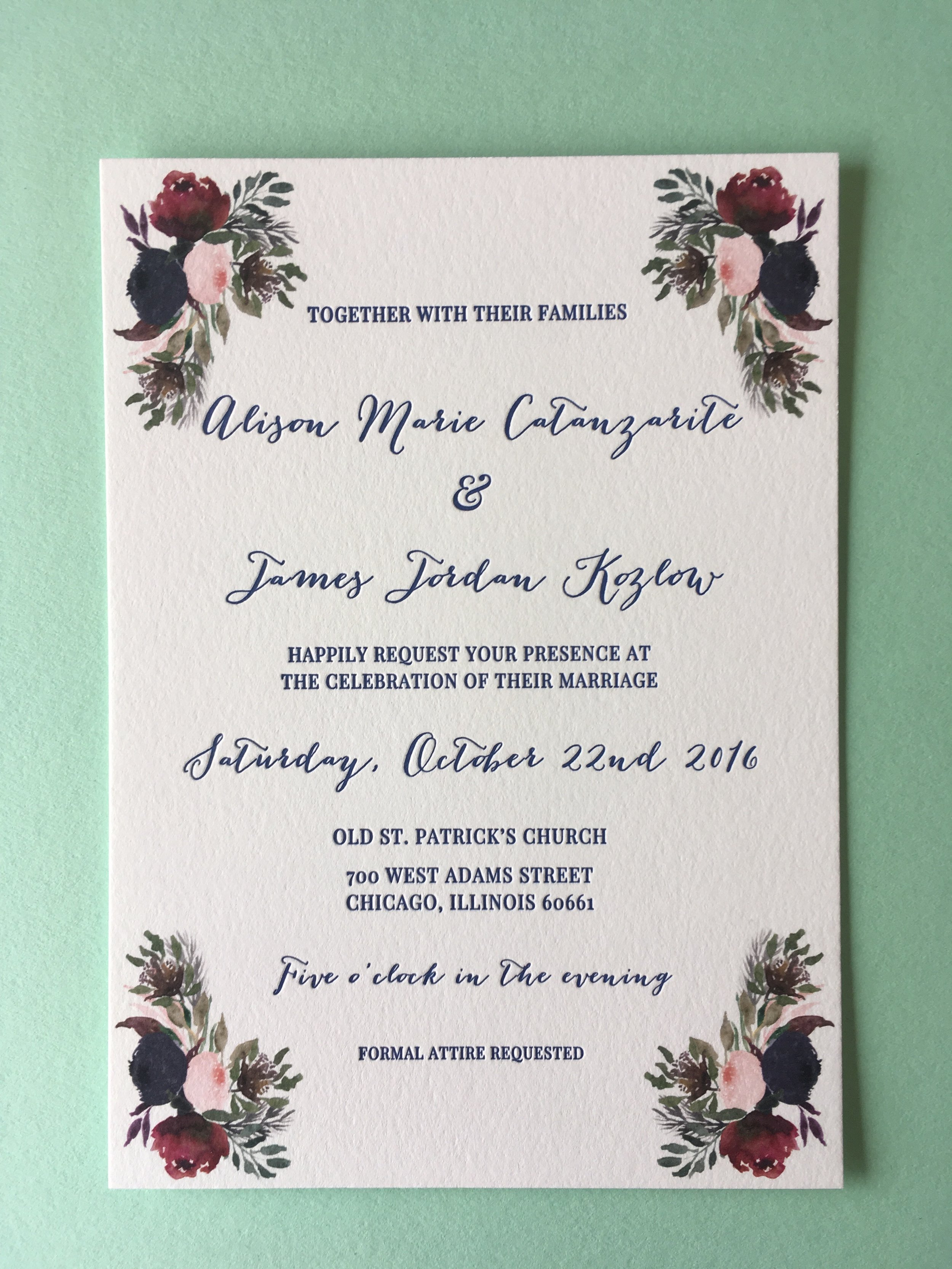 Koch Printing Wedding Invitations