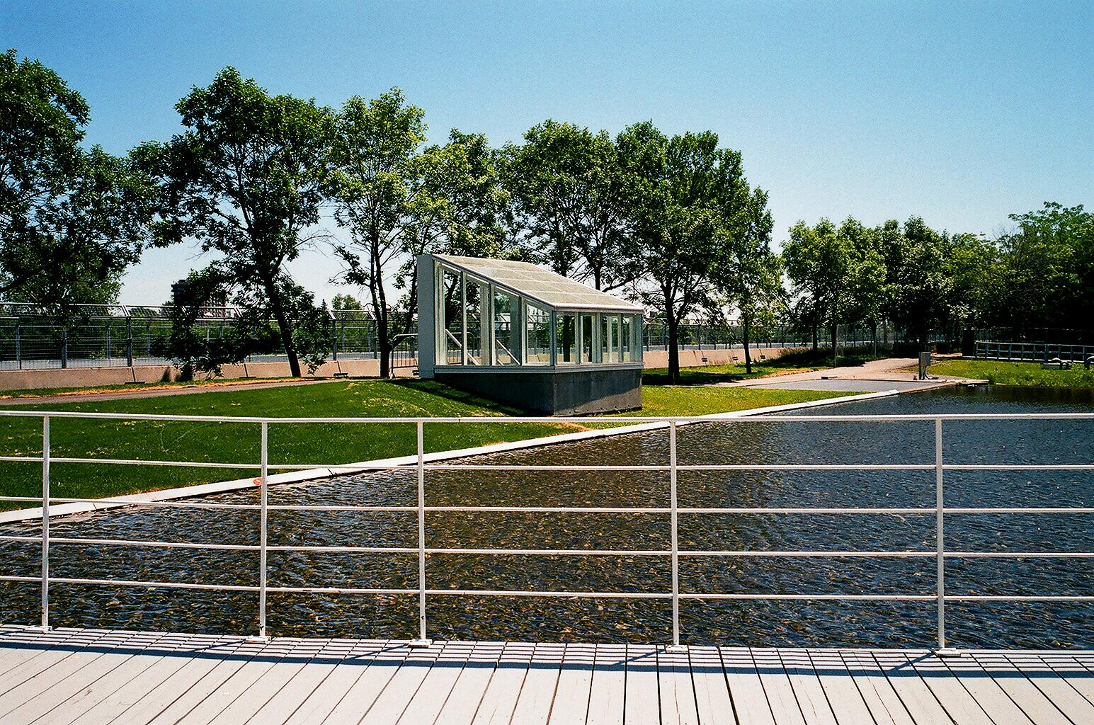 Glass Hut