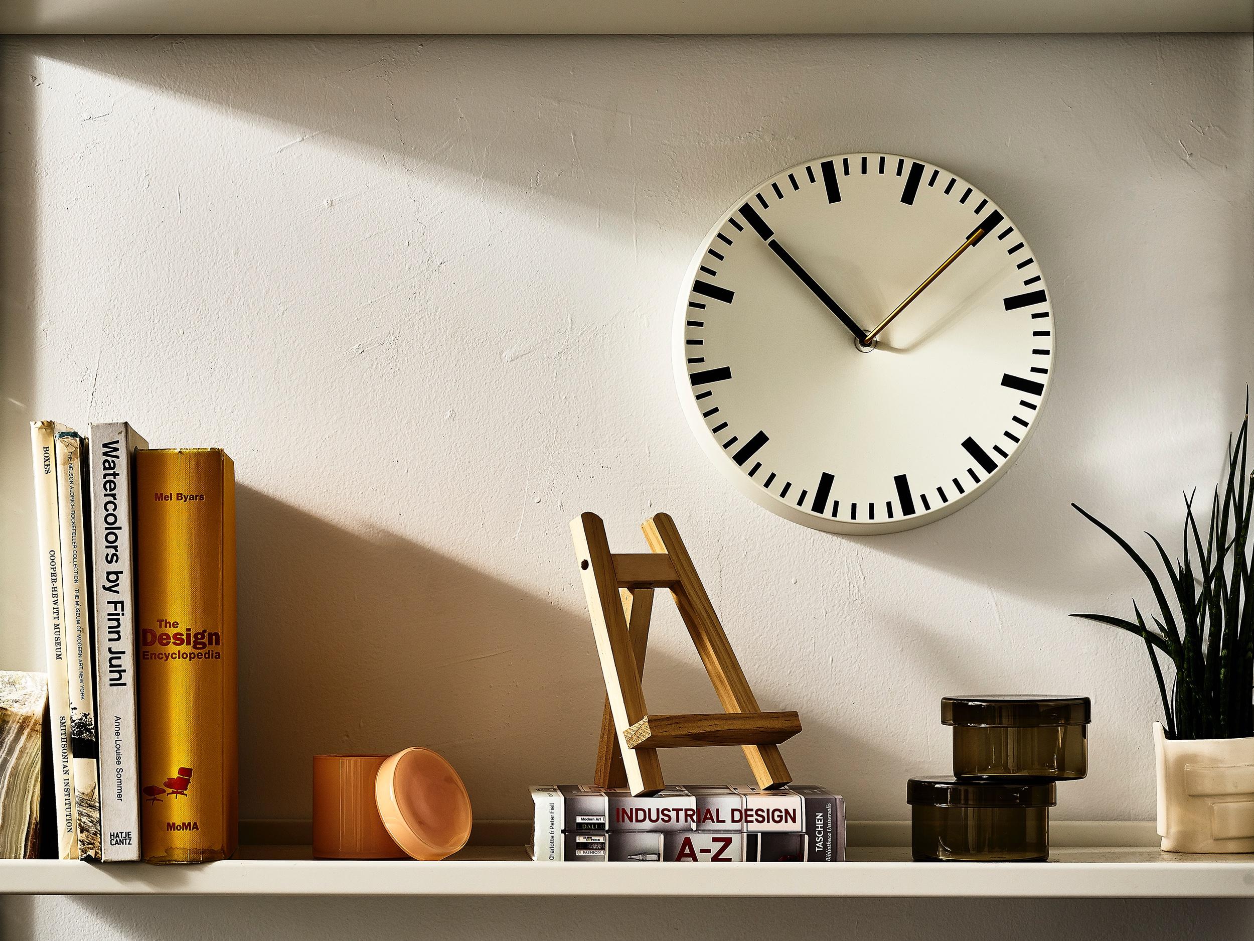 Hay Design Clock