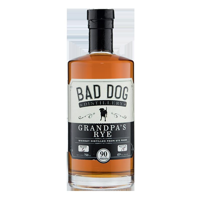 bad dog grandpa rye whiskey png.png