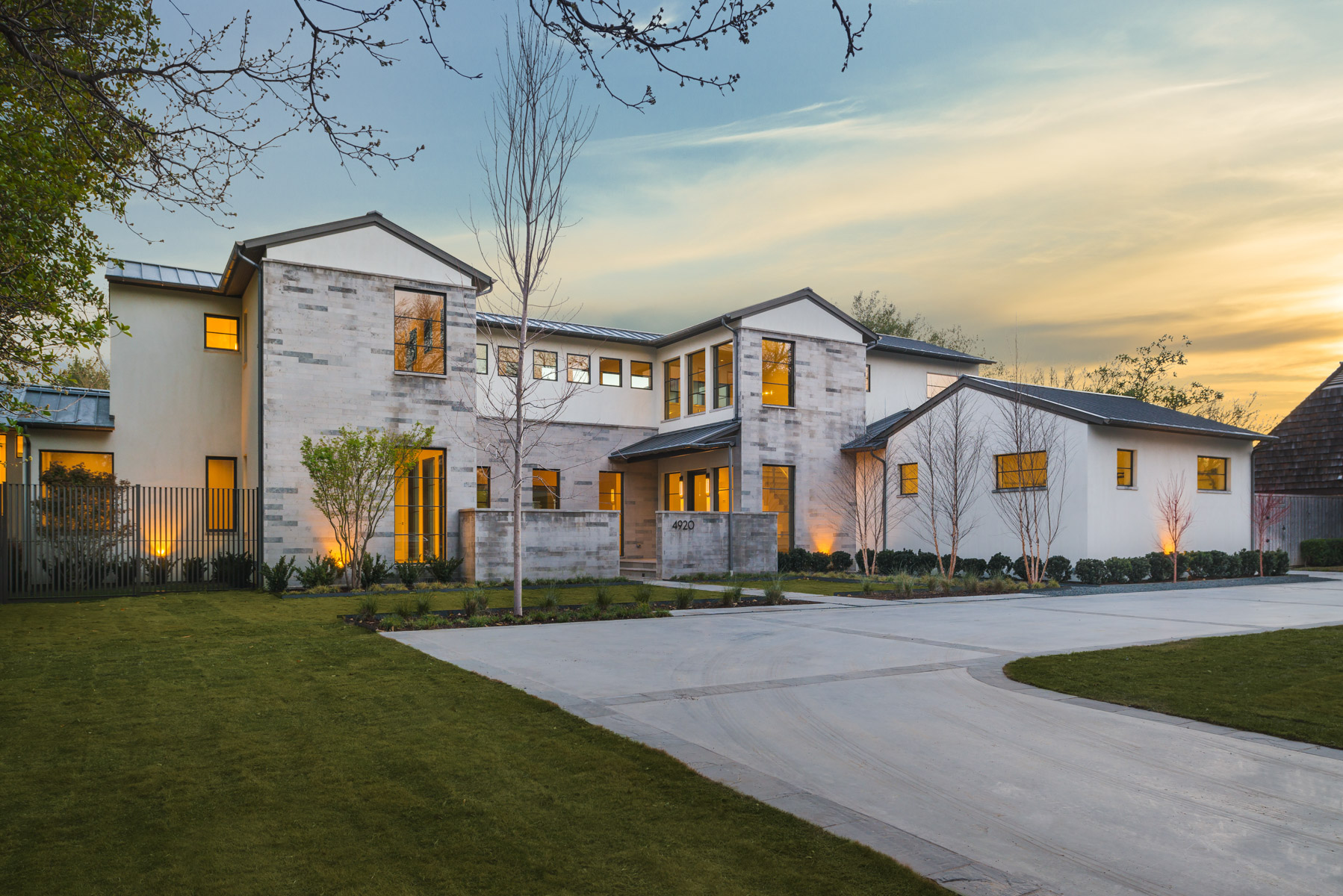 North Dallas Soft Contemporary Home
