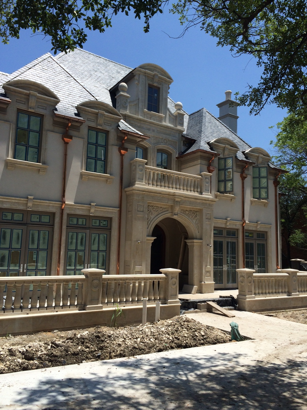 Traditional French New Construction Home;   Preston Hollow, Dallas, TX