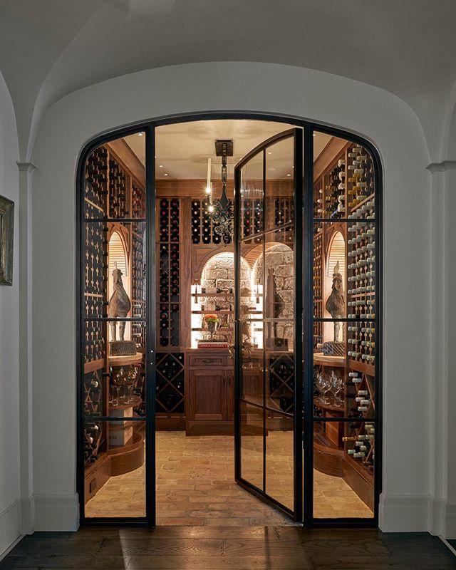 More than it is. . . . . . #wine #wineroom #winestagram #architecture #interiordesign #interiors #lightingdesign #classicalarchitecture #classicism #instaarchitecture #traditionalarchitecture #moderndesign #interiorinspo #design