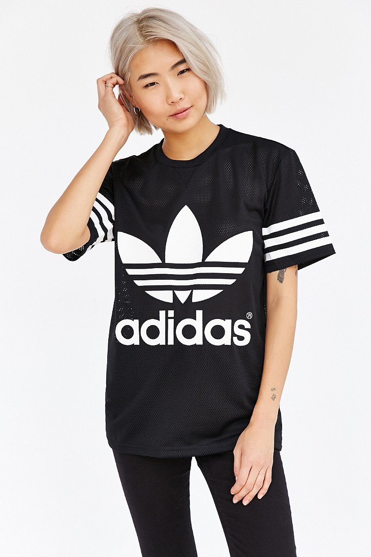 Adidas Black Orginals Mesh Tee