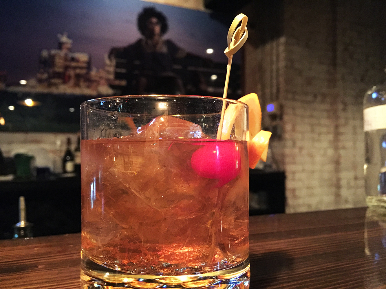 """Manhattan"" on the rocks"