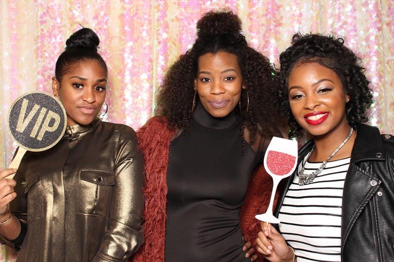 TV Show Host @_briarenee (left) , Dressed In Details Events @dresseddetails (middle)