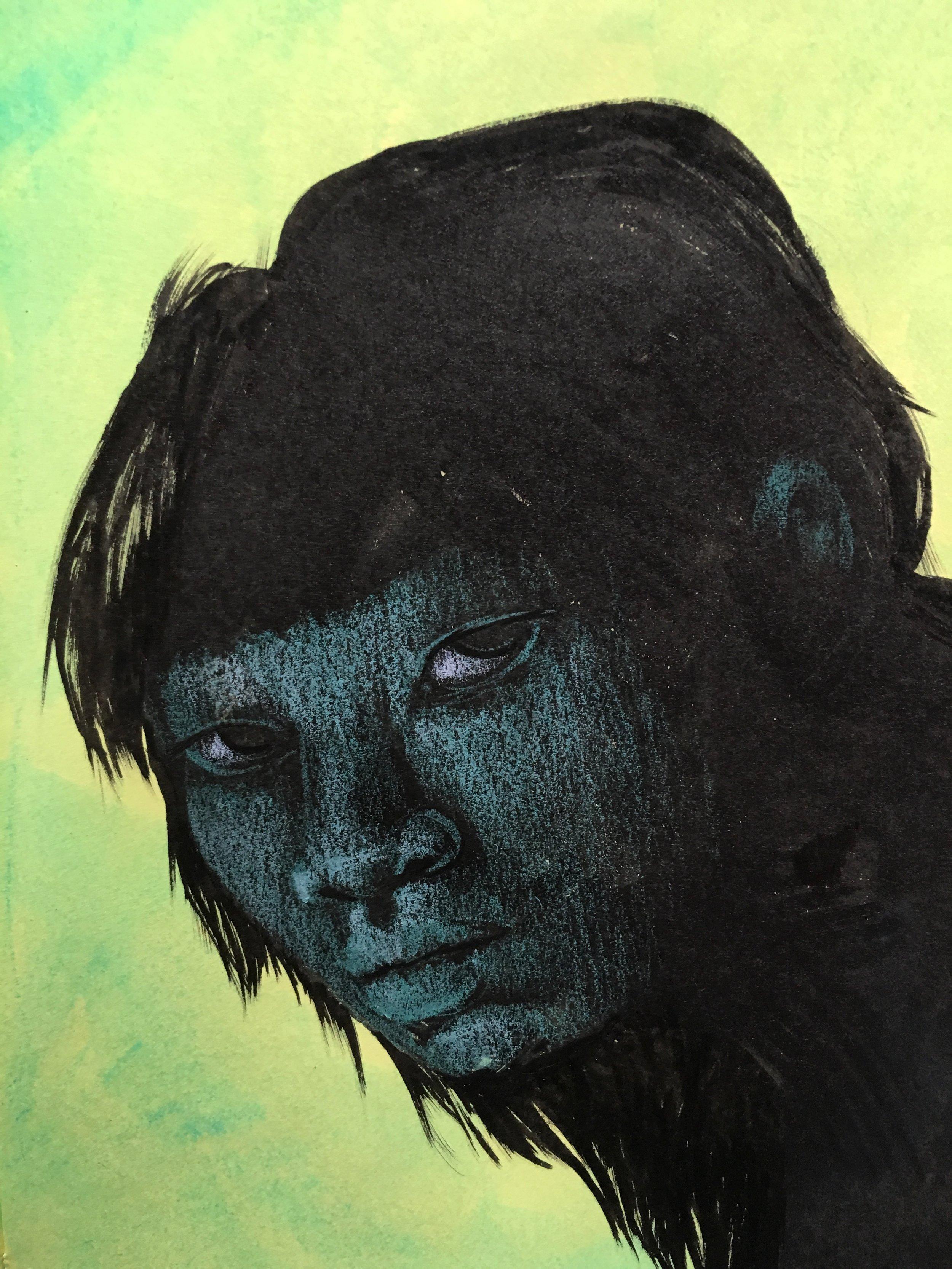 Green stare