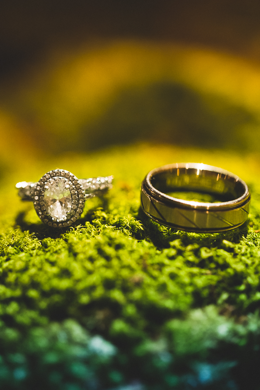 Alisha & Will's Wedding Rings