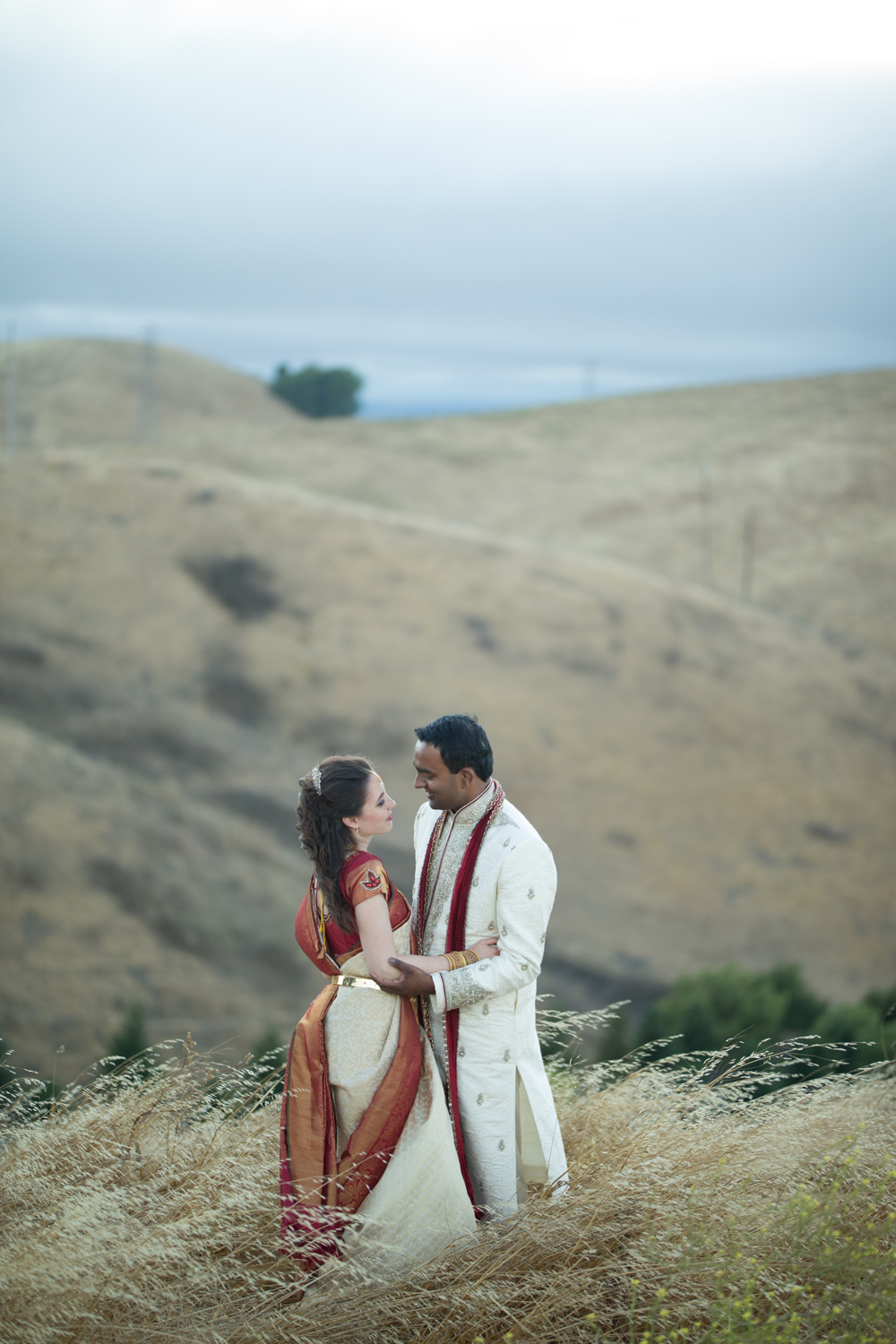 Vikas & Adriana Portrait at Nella Terra Cellars