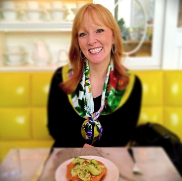 Amy Sewell at Caffe Storico
