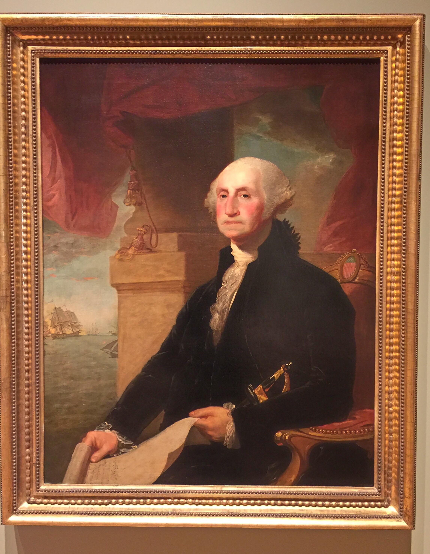 """George Washington"" (Gilbert Stuart)"