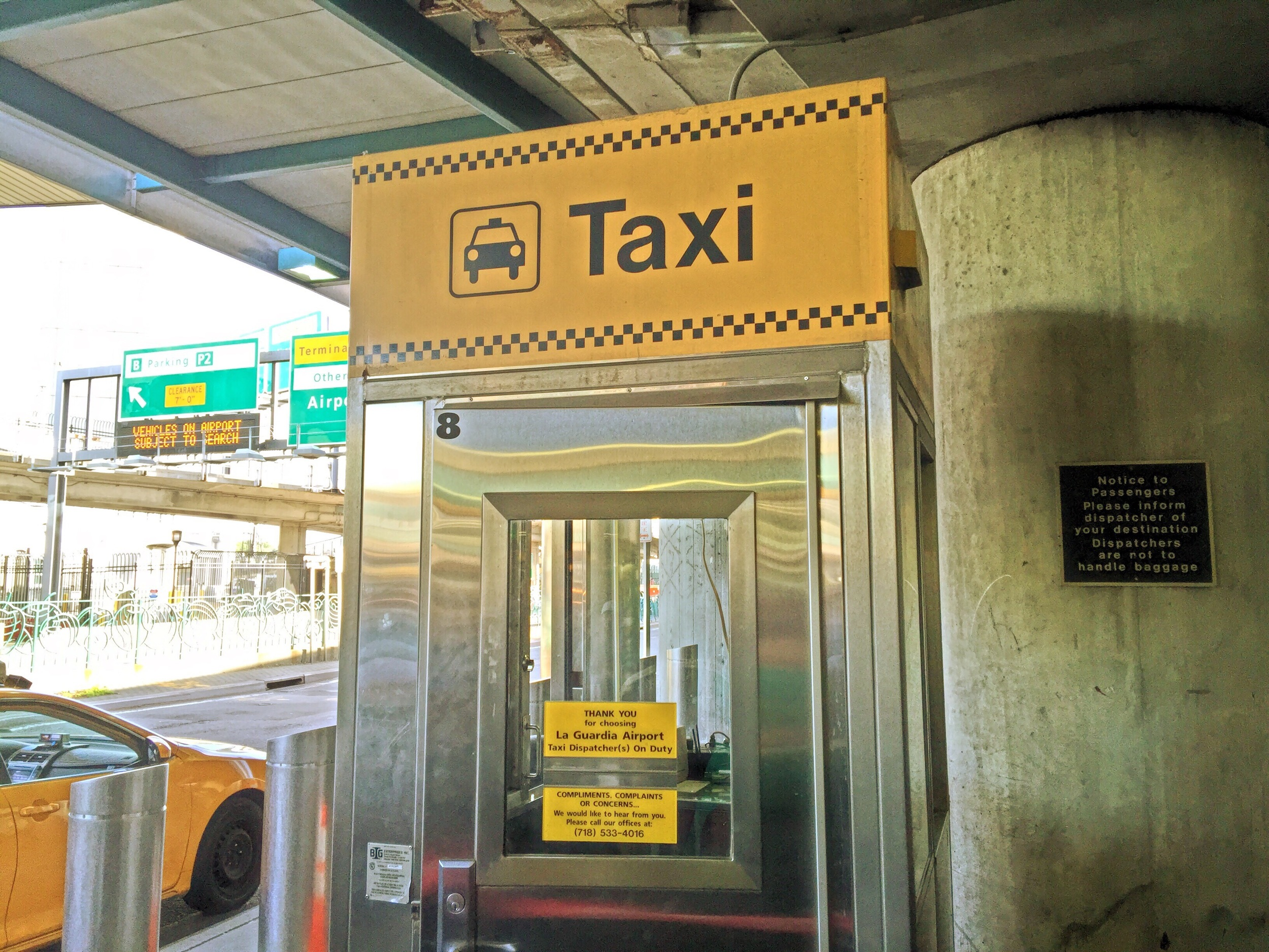 """Only get a taxi at the taxi stand. Avoid """"touts"""" who supposedly offer a taxi, but take you to private car services."""