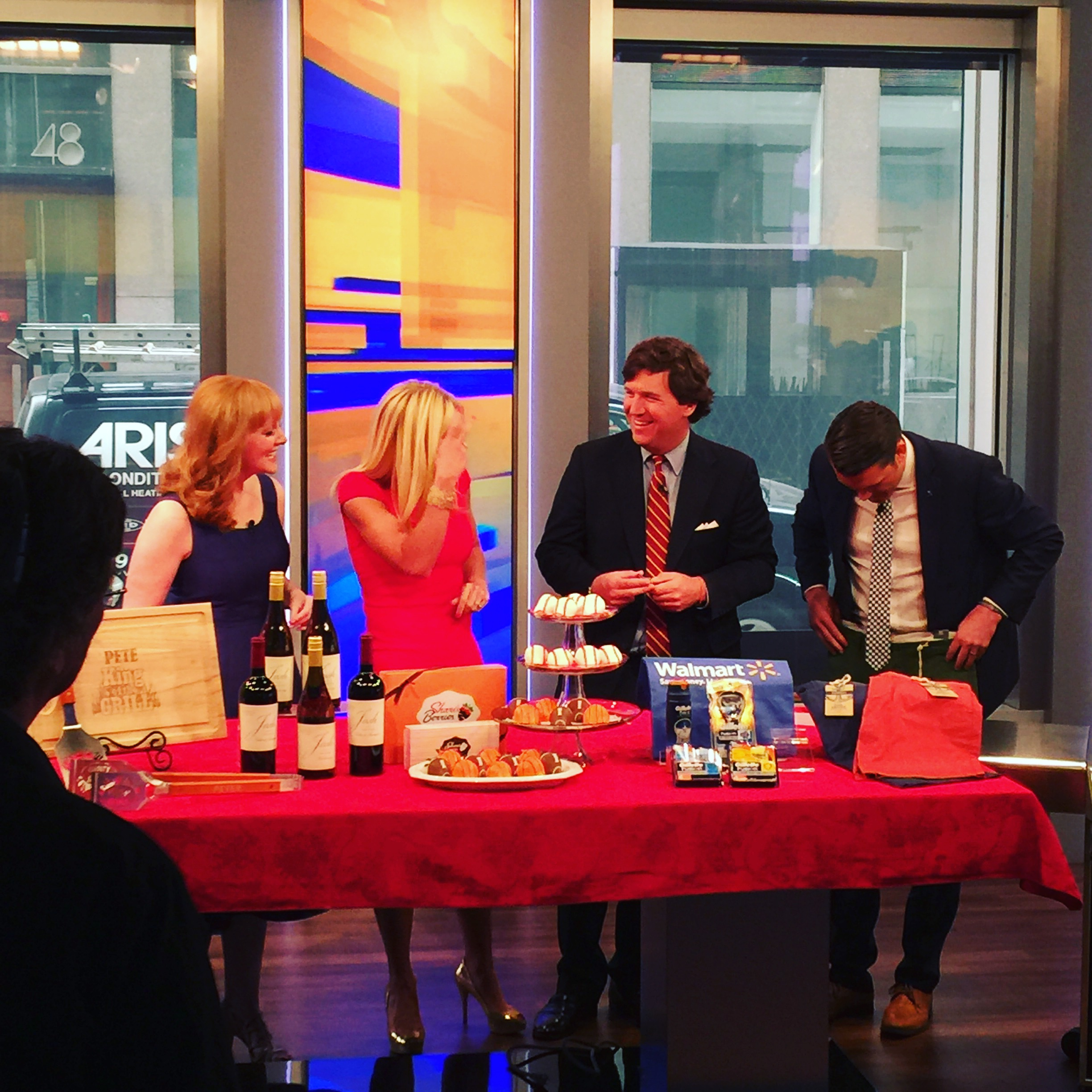 """Amy Sewell on """"FOX & Friends"""""""