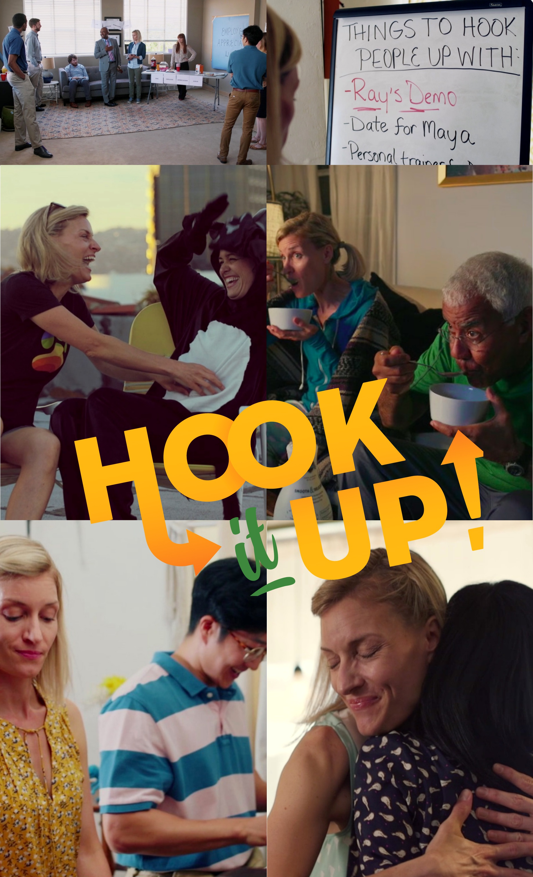 Hook It Up!   is a new short film I wrote and directed. We've been accepted to a few festivals which is pretty cool, too! Check it out!