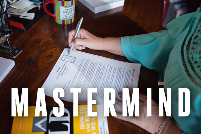Click here to learn more about our Mastermind Sessions