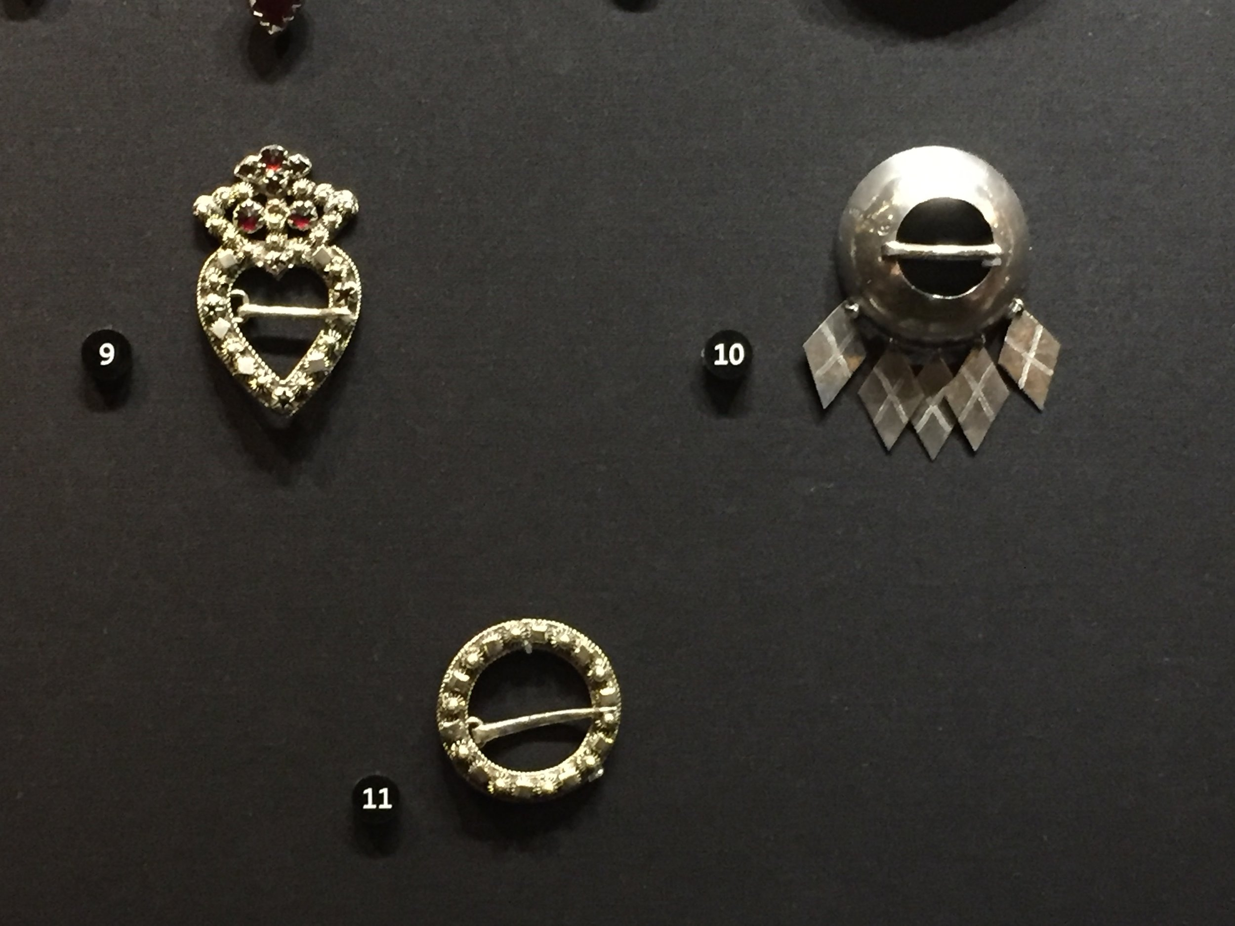 Swedish Brooches from 1830-1860