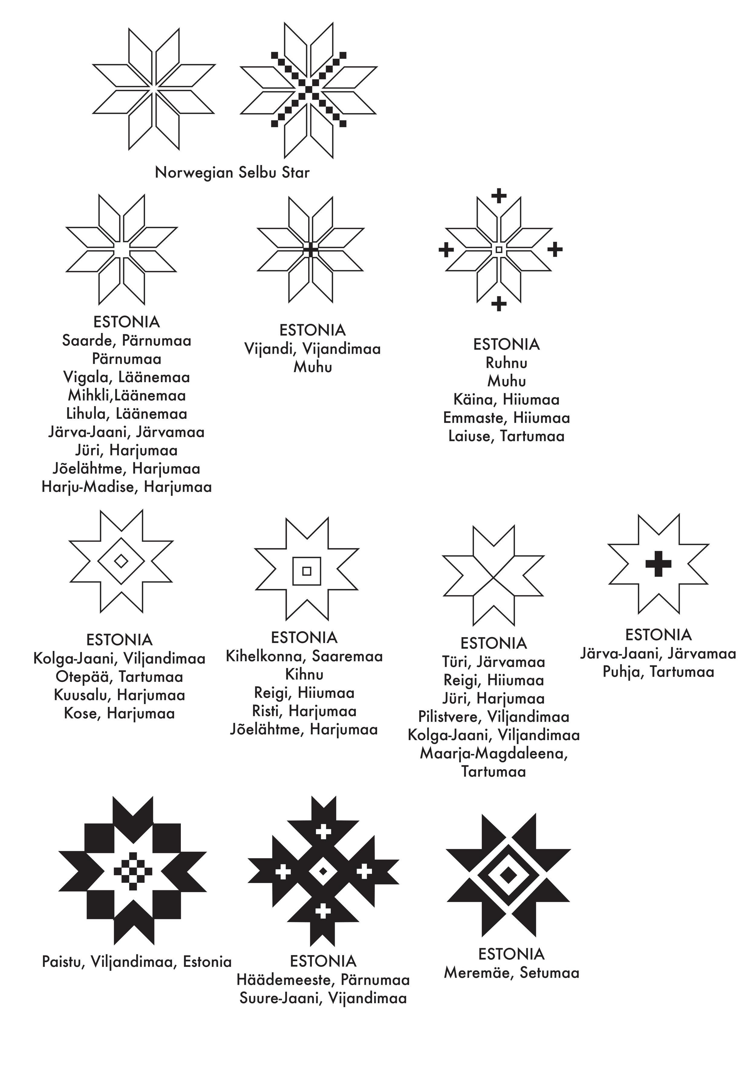 eesti selbu star variations.jpg