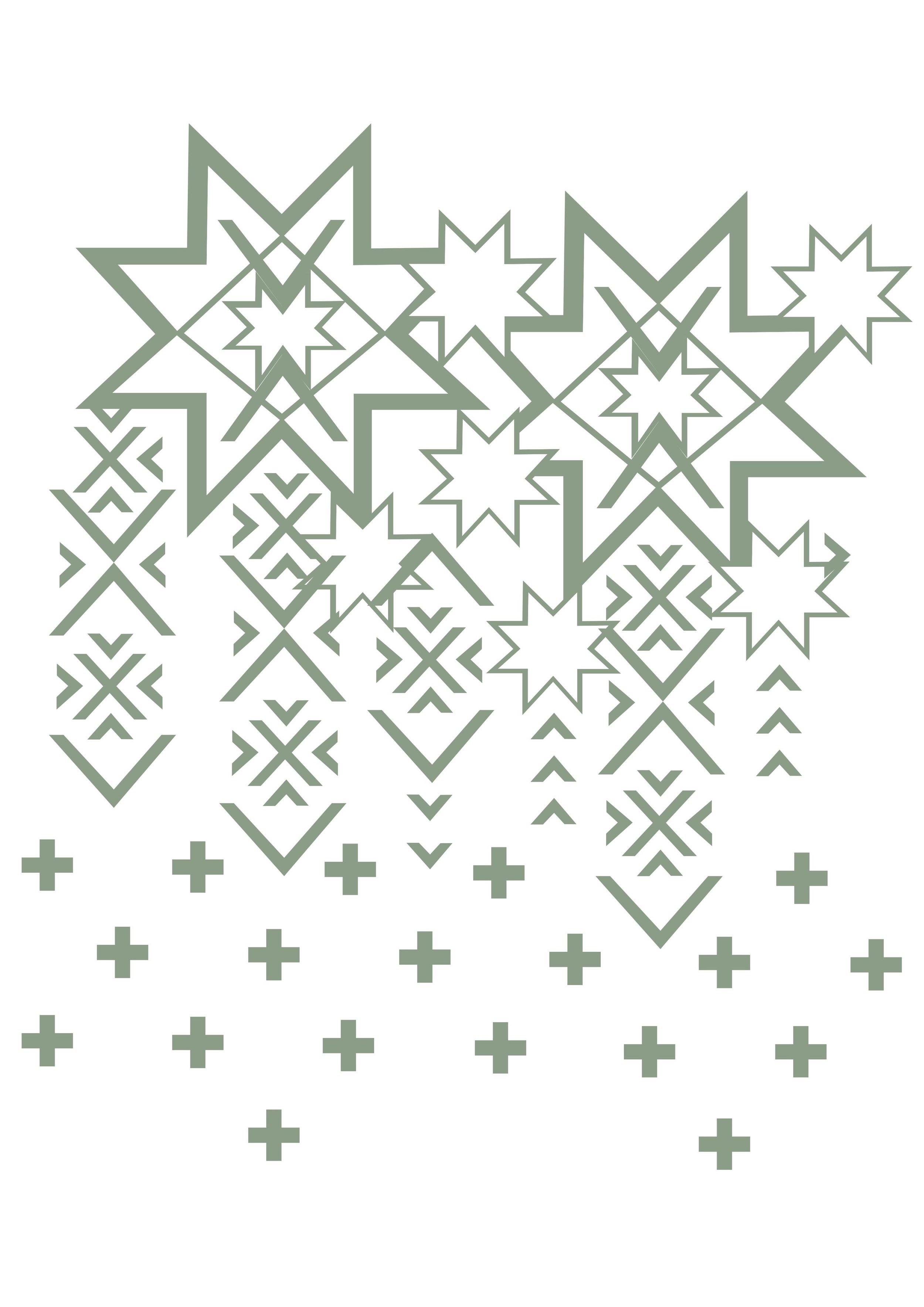 Illustrator file of more finalized pattern
