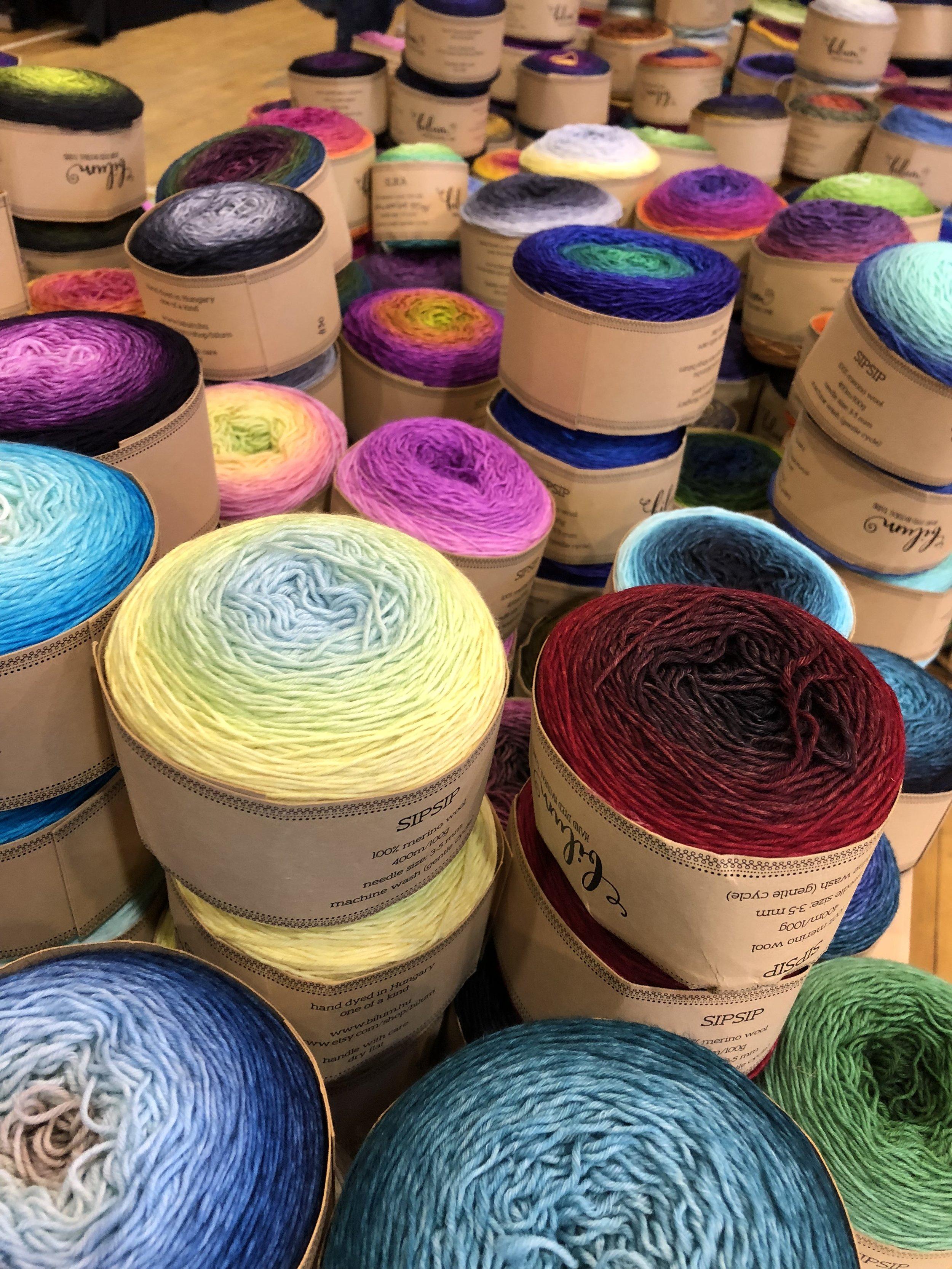 Bilum Hand Dyed Yarn