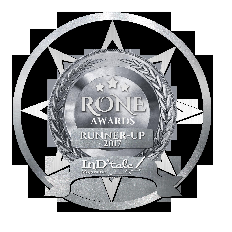 Named runner-up in the  2017 RONE Awards .