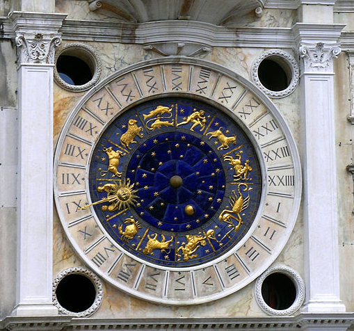 St Mark's Clock  is housed in the  Clock Tower  on the  Piazza San Marco  in  Venice , Italy, adjoining the  Procuratie Vecchie .