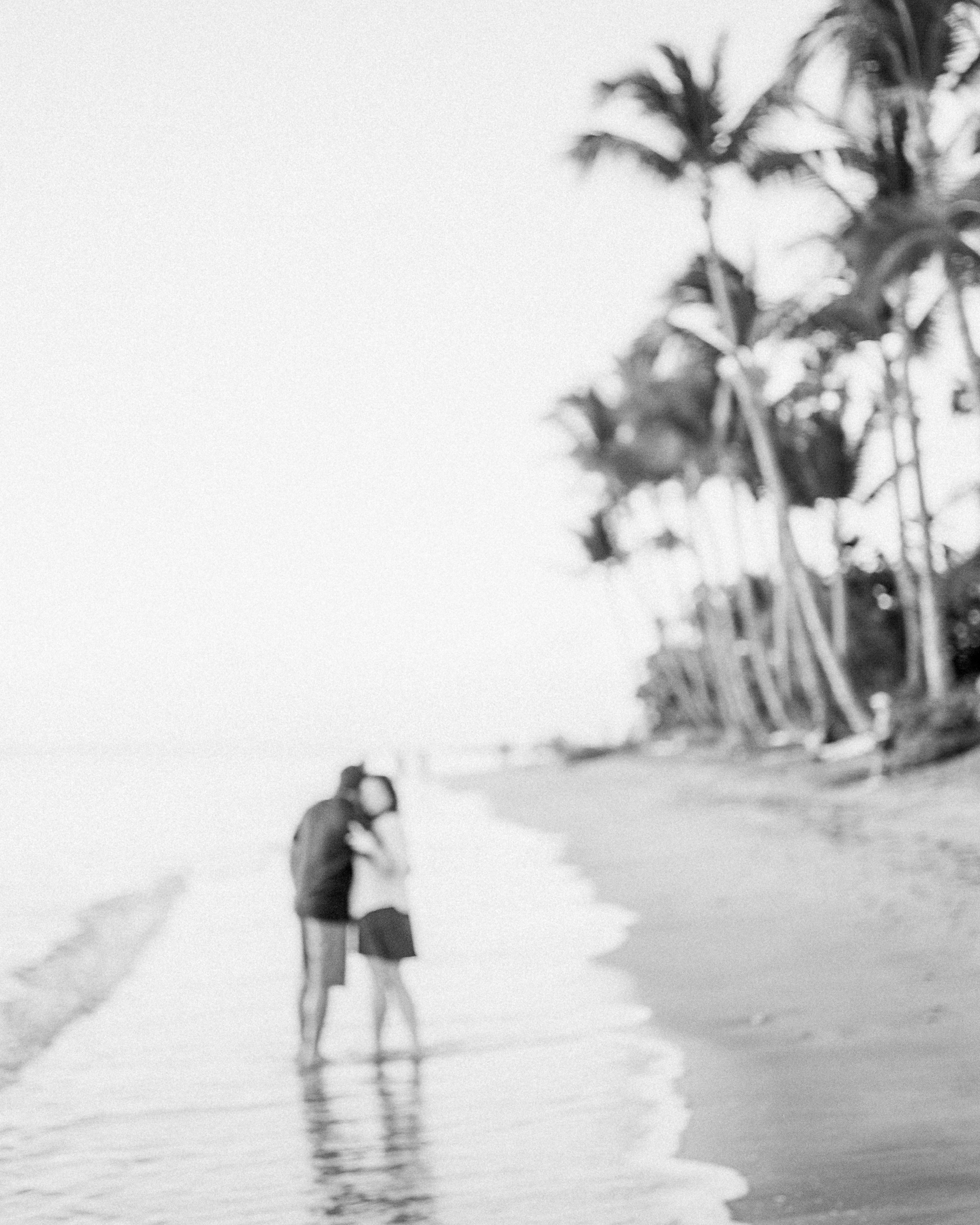 Aloha on DELTA 3200  ©Rhianna Mercier w/ Steph Walig & her love Maui, HI