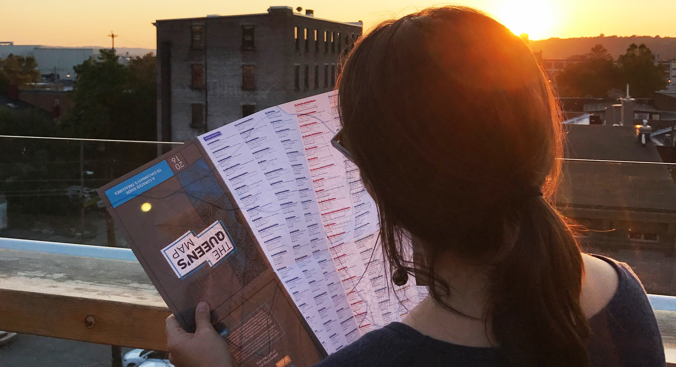 Picture by Megan Gotsch of the map in action!
