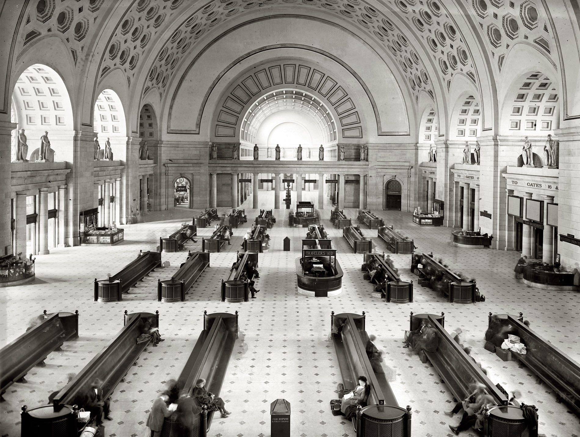 Union Station, Washington DC, 1900s