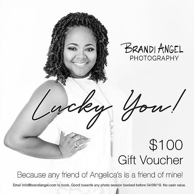 Lucky you! @divanized 😘📸 #brandiangelphotography #giftvoucher