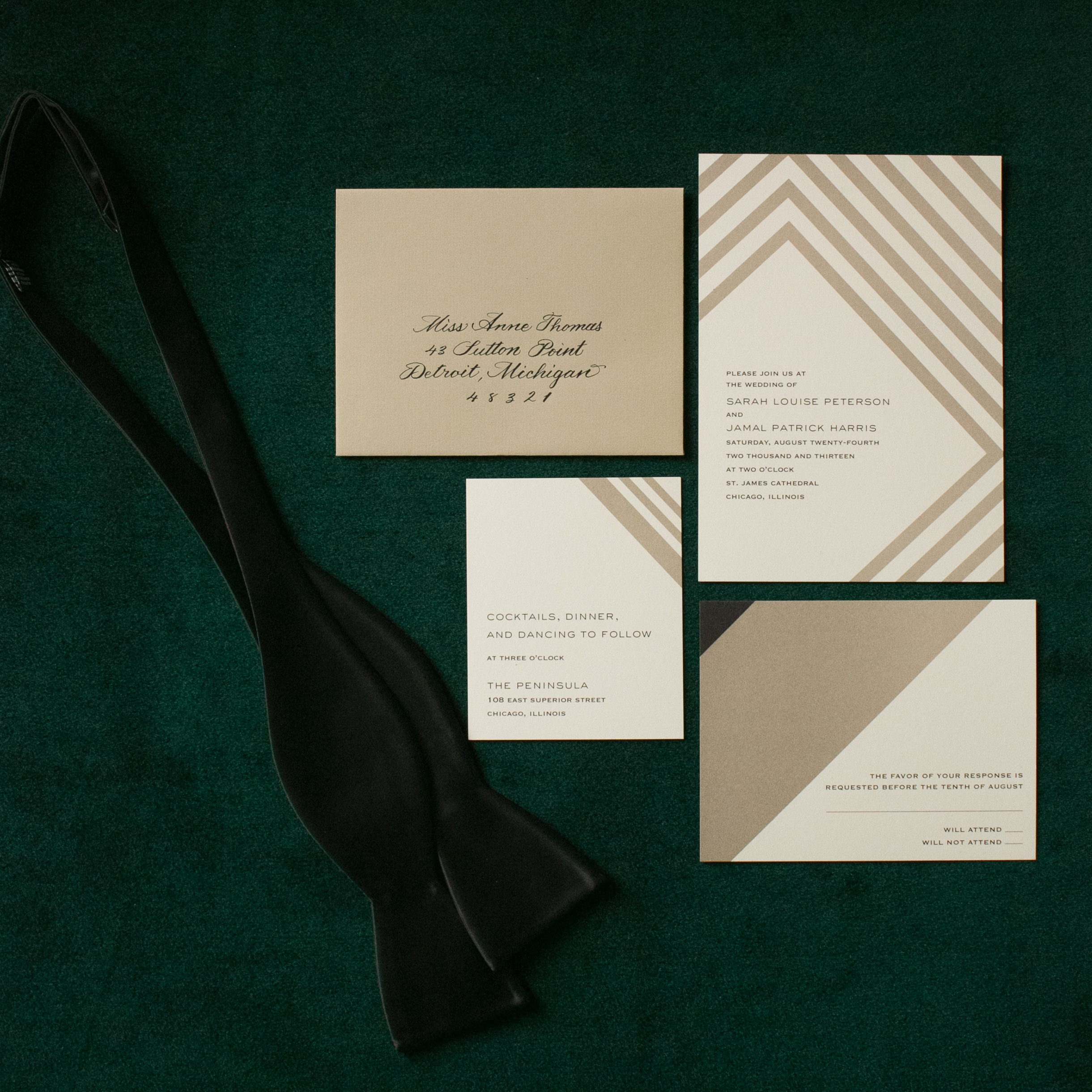 Clover Events | Emerald & Gold Wedding | Photos by Emilia Jane