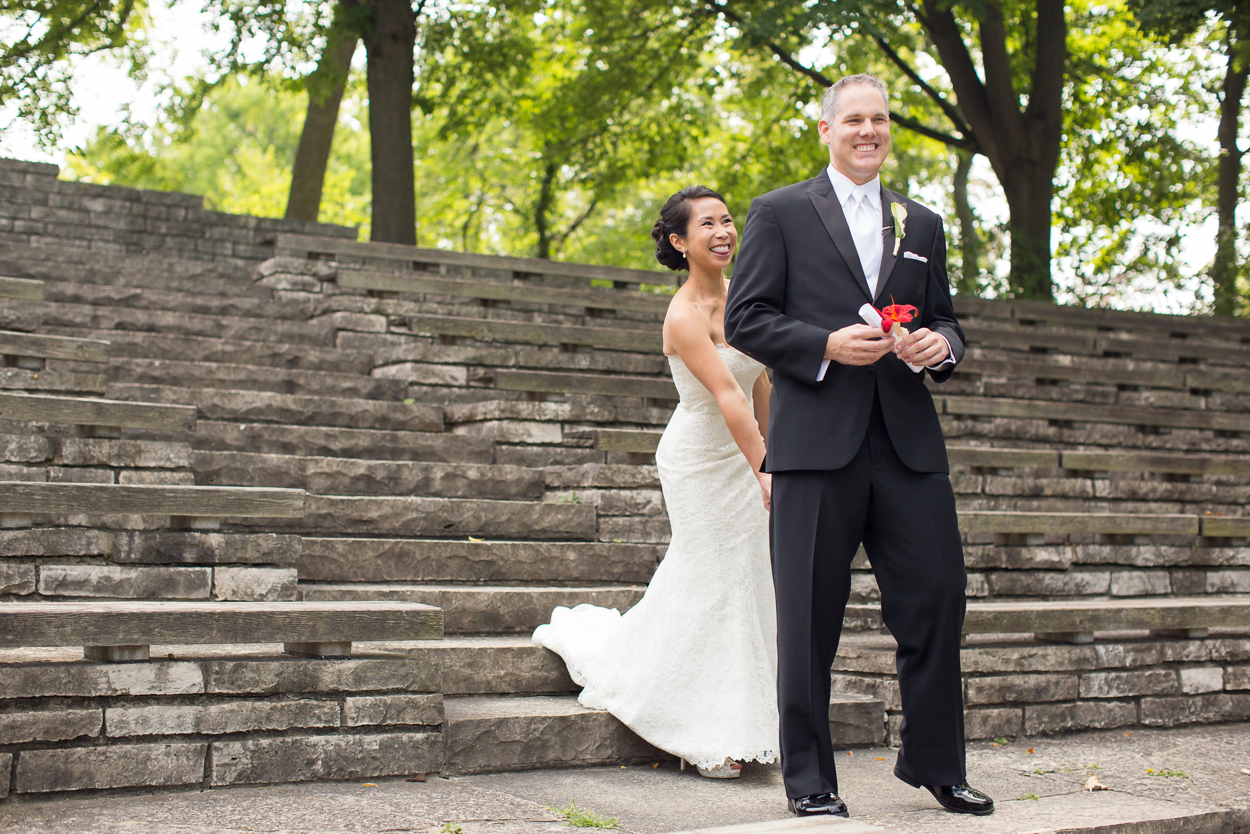Clover Events | Sunny & Charming Wedding | Photos by Moonhouse Productions