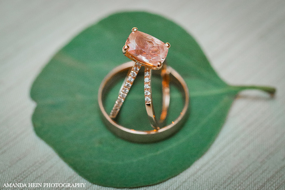 How gorgeous is Tess's pink sapphire ring?!