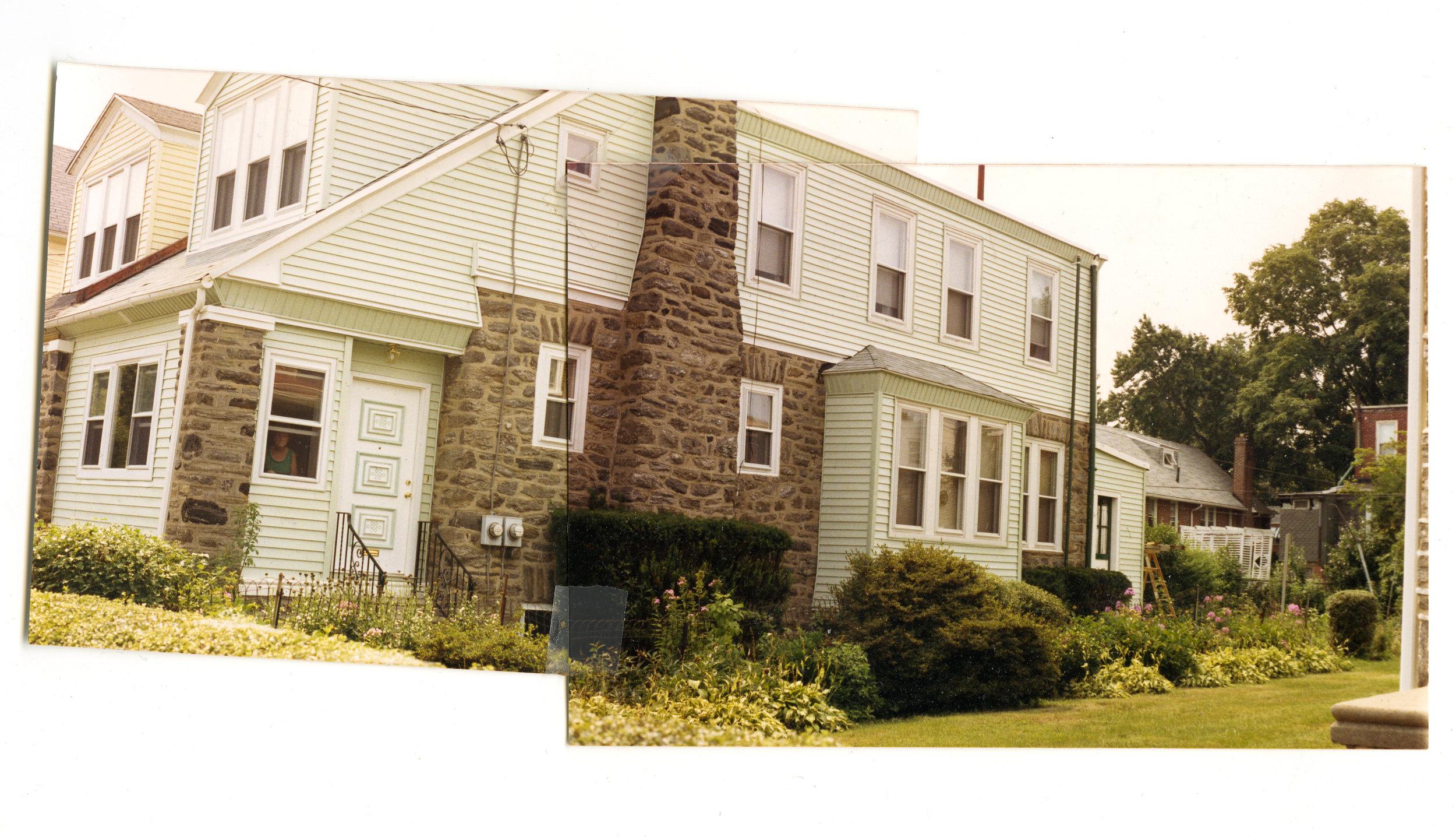 Panorama of Grandmom's House