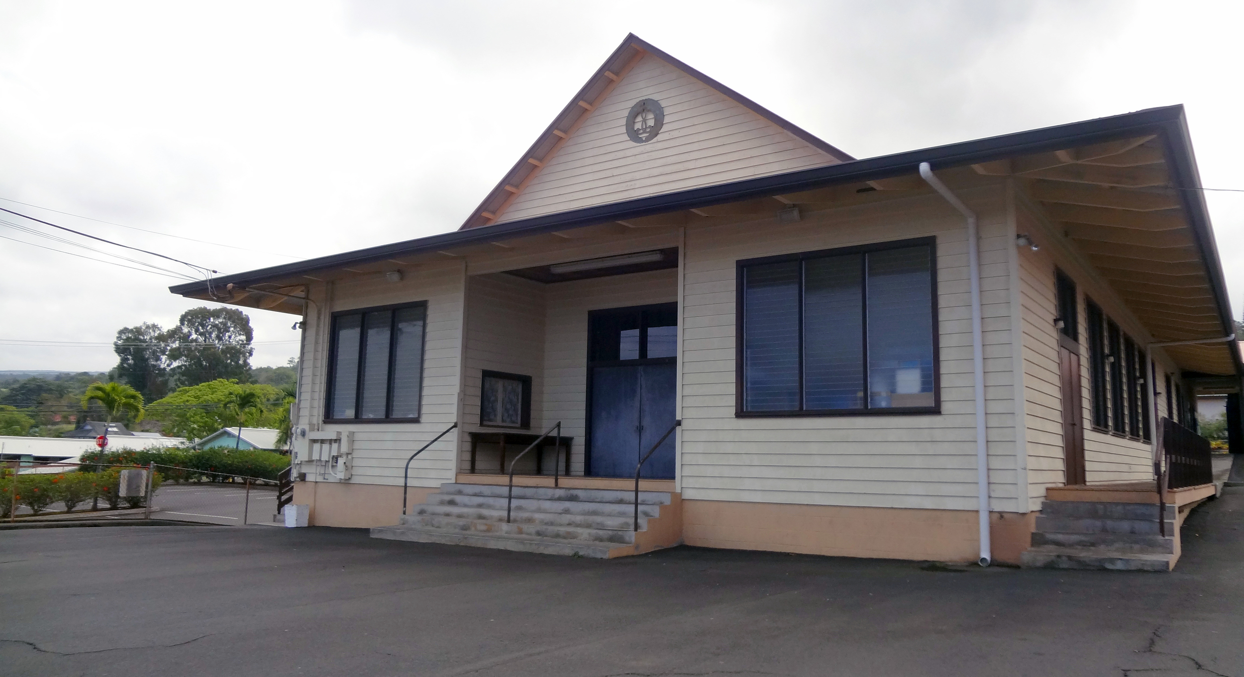 The social hall.