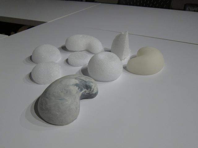 A range of form studies