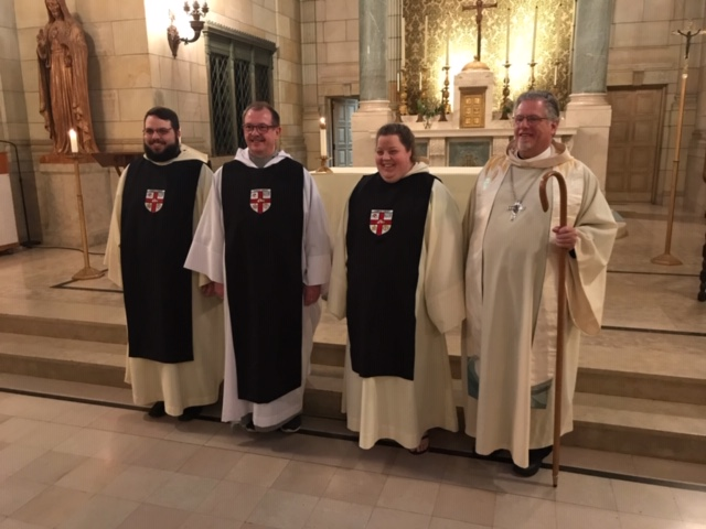 Newly Professed Members 2019