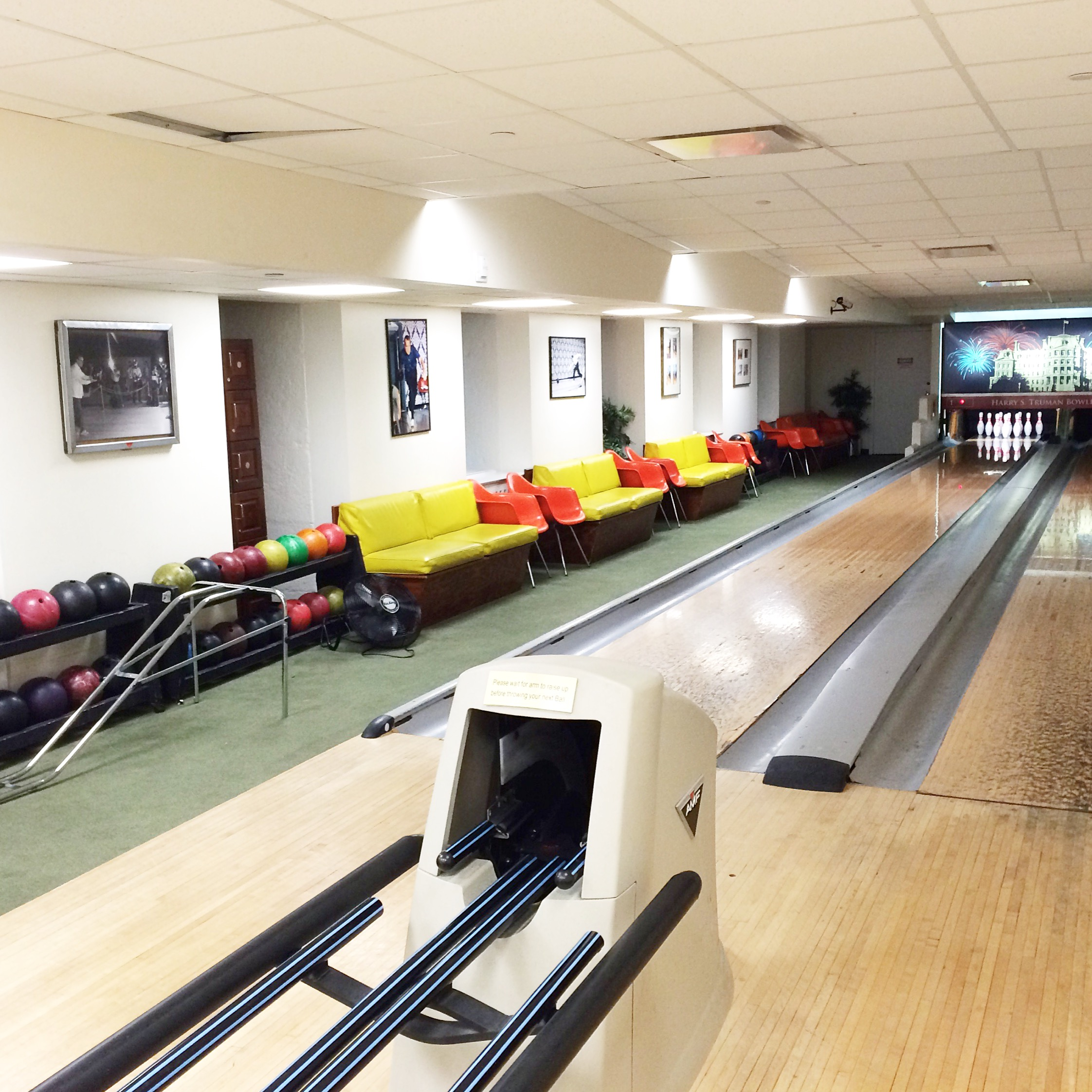 Harry S. Truman Bowling Alley