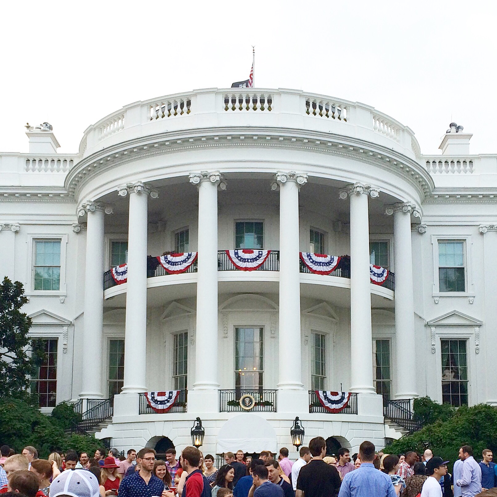 Fourth of July celebration on the South Lawn