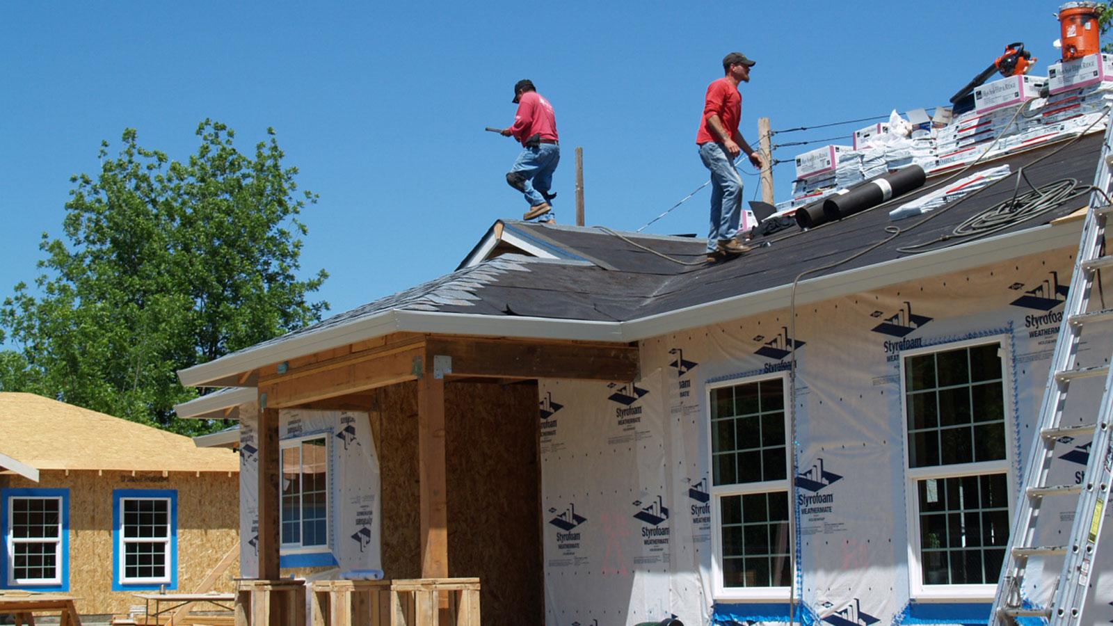 Building better roofs, building better communities.
