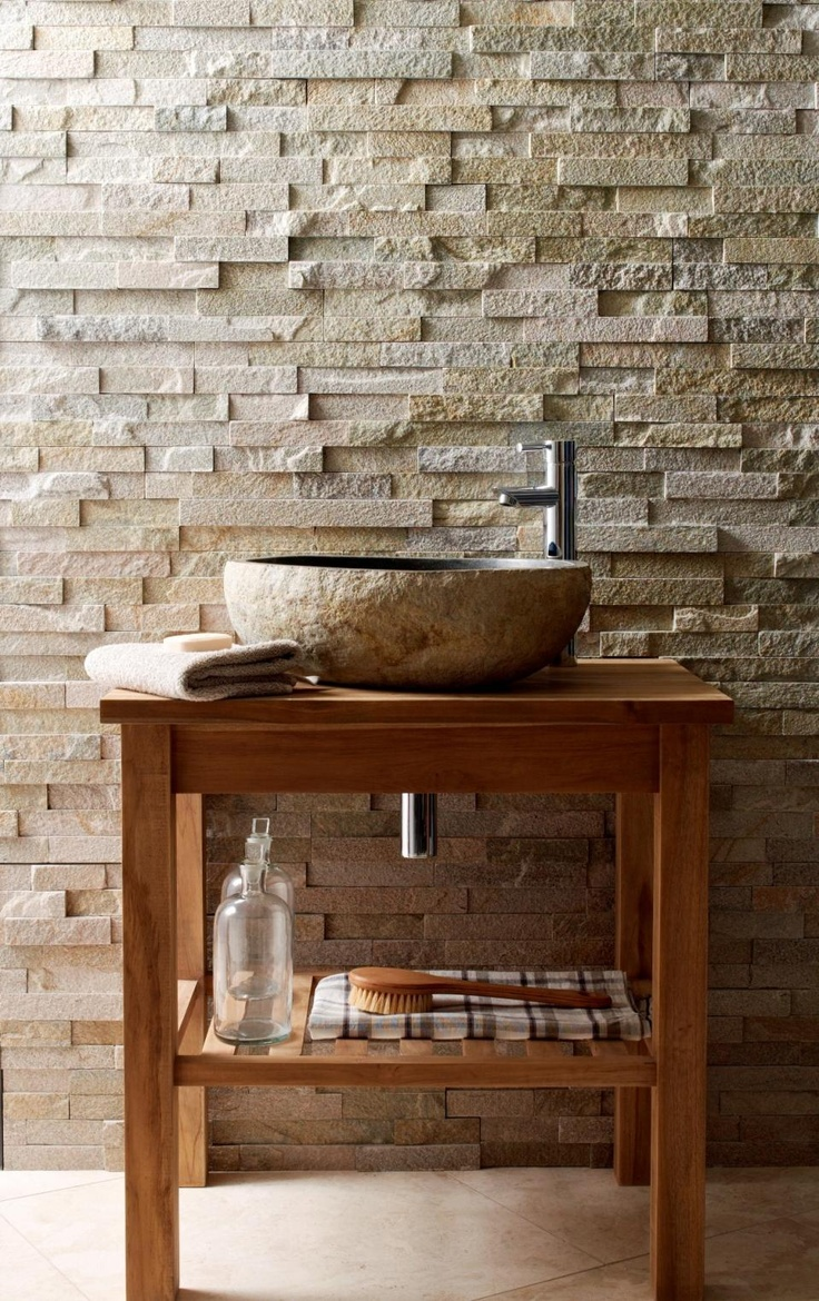 Wooden Sink Feature / Herman Furniture Singapore