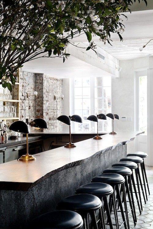 Solid Wood Slab Counter Top / Herman Furniture Singapore