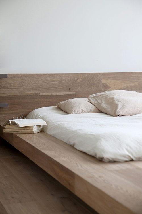 Solid Wood Bed Base / Herman Furniture Singapore
