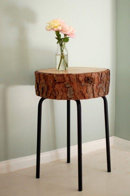 Solid Wood Side Table Furniture / Herman Furniture Singapore