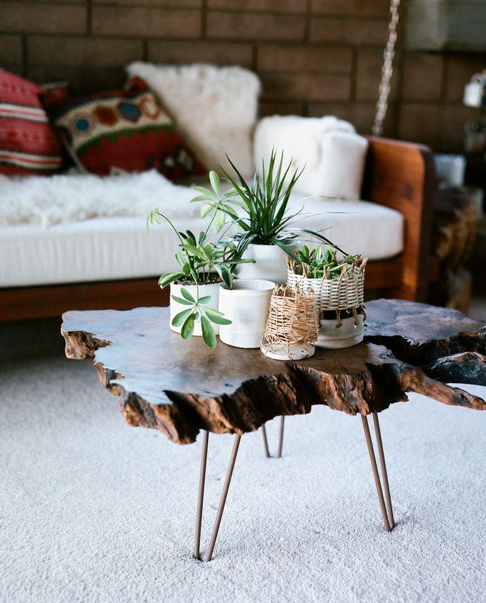 Solid Raw Teak Coffee Table / Herman Furniture Singapore
