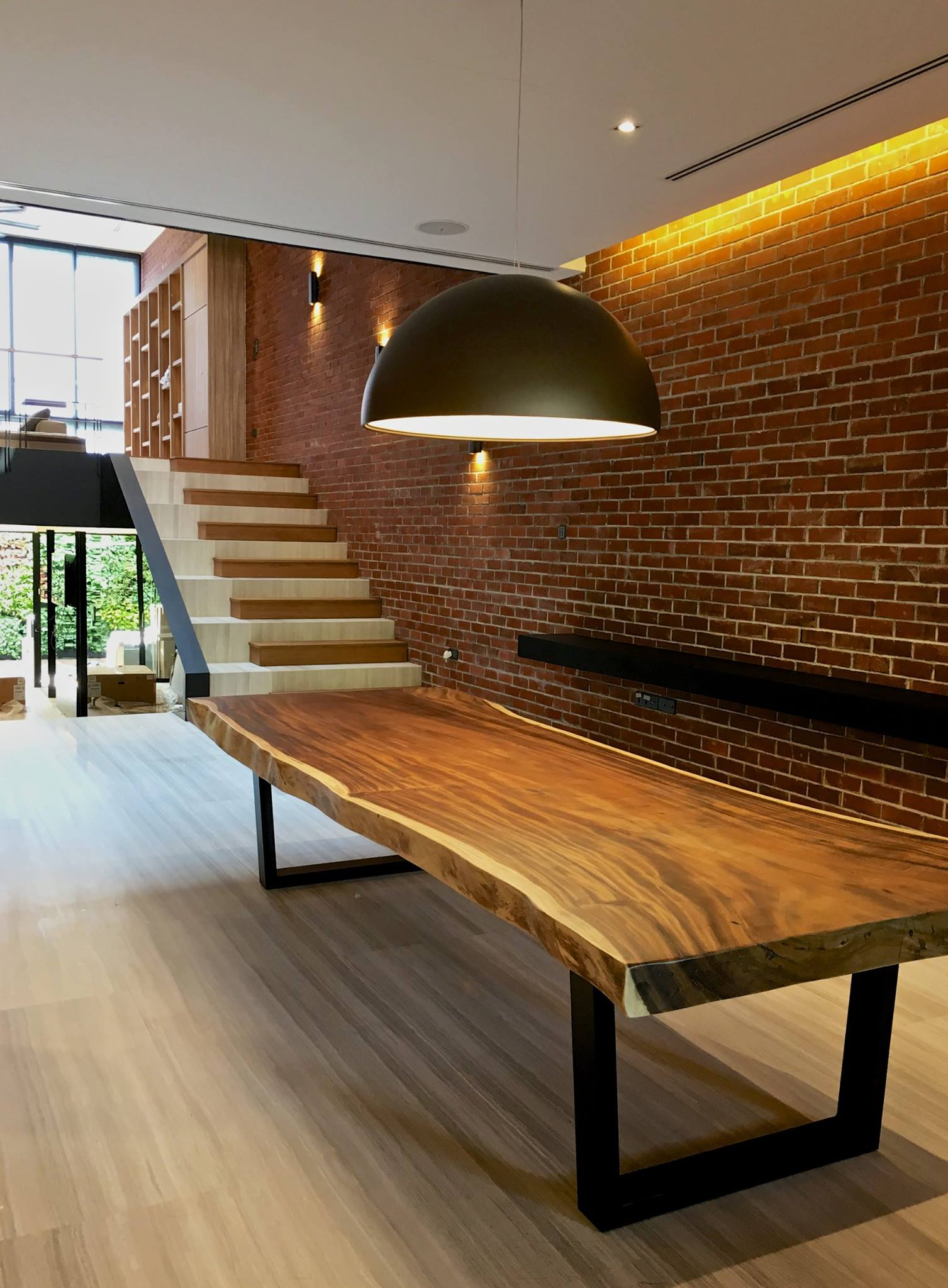 Suar Wood Long Dining Table // Herman Furniture Singapore.jpg