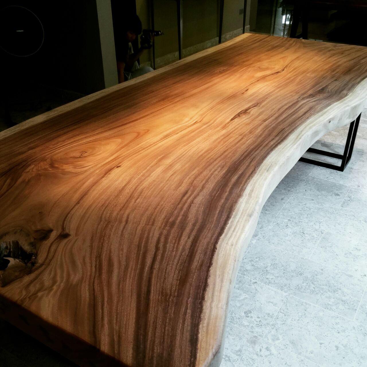 Huge Slab Suar Wood Table // Herman Furniture Singapore.jpg