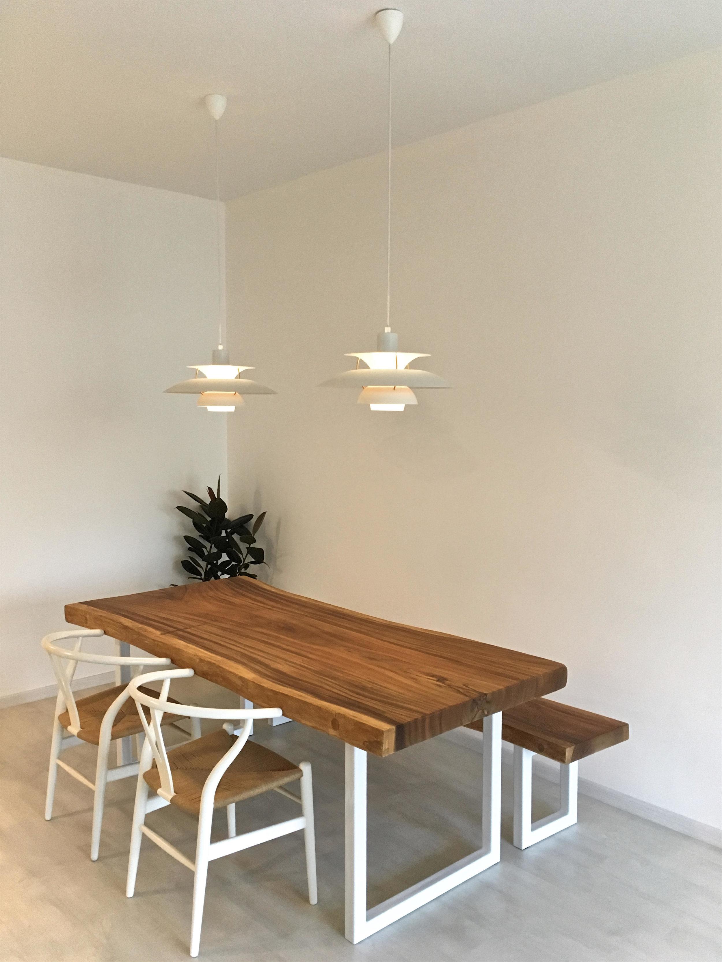 Suar Wood Custom Legs and Custom Bench // Herman Furniture Singapore