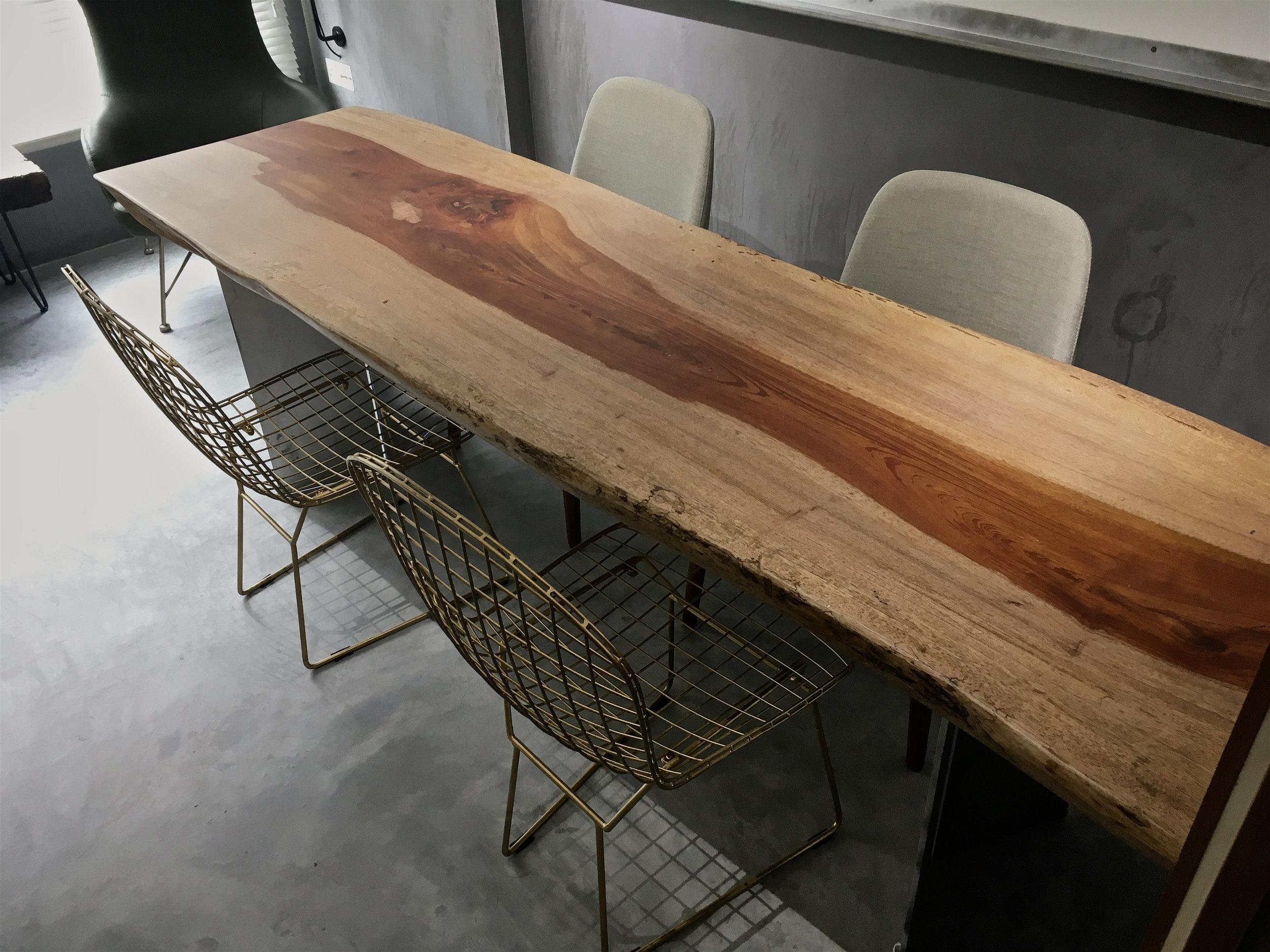 Rengas Wood Table // Herman Furniture Singapore
