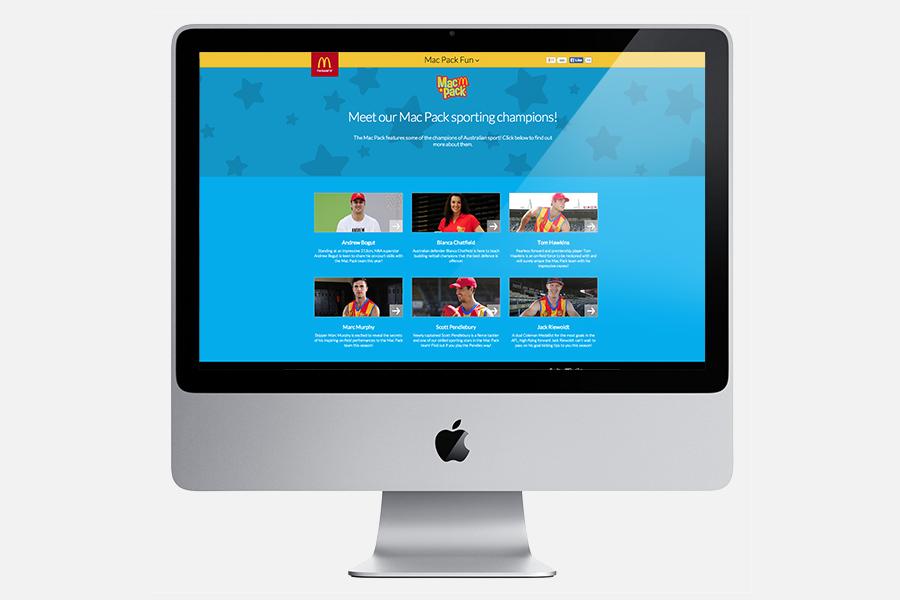 Desktop Sporting Champions Page